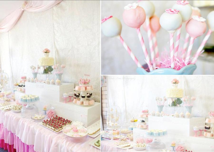 Kara 39 s party ideas ladies 39 girl shabby vintage high tea for High tea party decorations