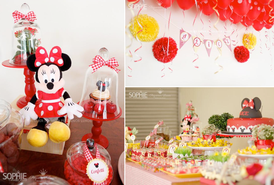 Kara S Party Ideas Minnie Mouse Girl 2nd Birthday Party