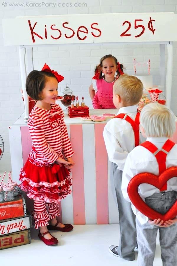 Kara S Party Ideas Valentine S Kissing Booth Party Via Kara S Party