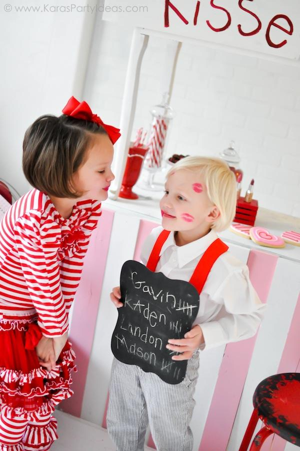 Kara S Party Ideas Valentine S Kissing Booth Party Via Kara S Party