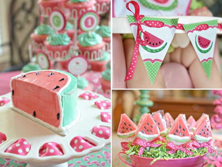 Watermelon 1st Birthday Party