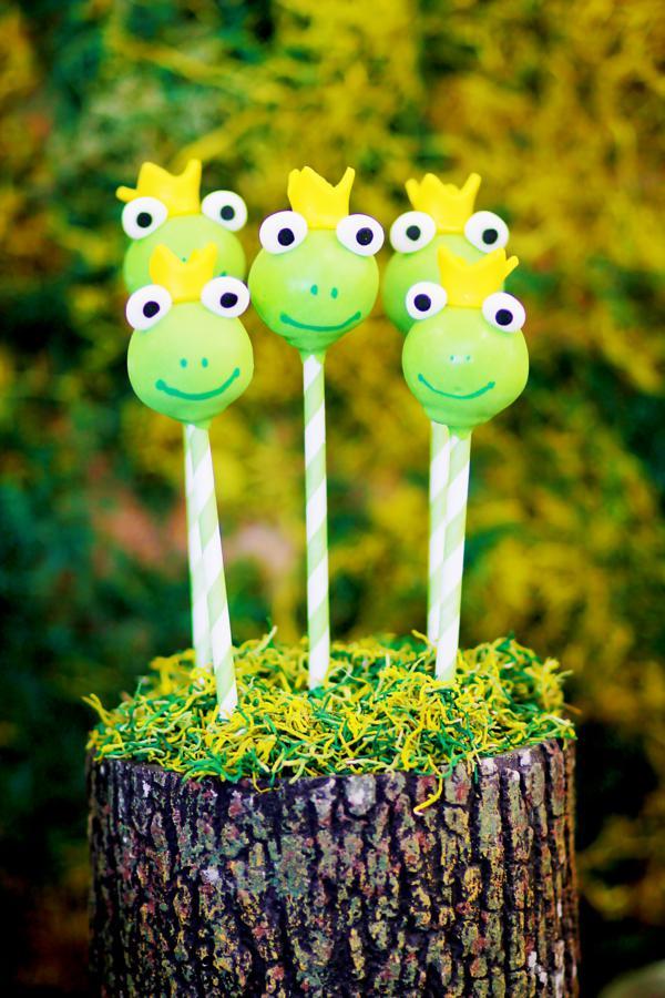 Frog Baby Shower Cake
