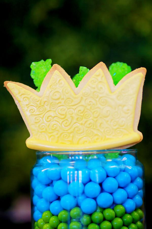 Kara S Party Ideas Frog Prince Themed Boy Baby Shower Planning Ideas