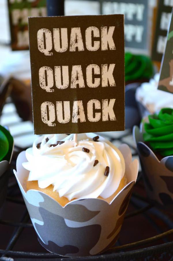 Fabulous Karas Party Ideas Duck Dynasty Camoflauge Hunting Boy Themed Personalised Birthday Cards Veneteletsinfo