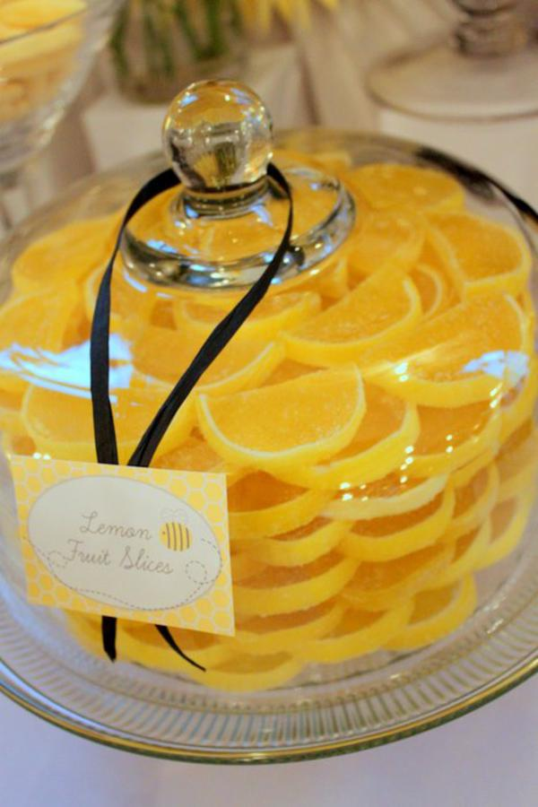 Bumble Bee Baby Shower Food Ideas