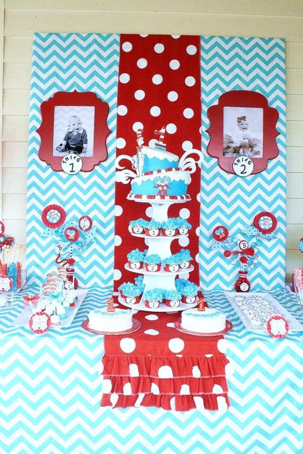 Fabric Birthday Cake Hat
