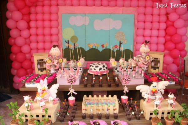 Kara S Party Ideas Cowgirl Farm Barn Animal Pink Themed