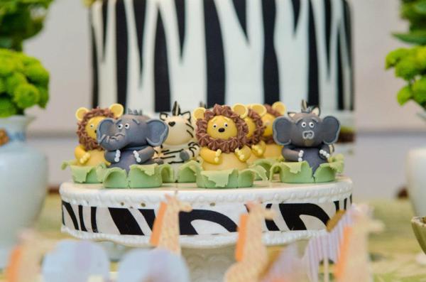 Kara S Party Ideas Safari Wild Child Year Boy Girl Themed Birthday