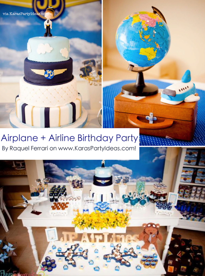 Airplane Cake Baby Shower