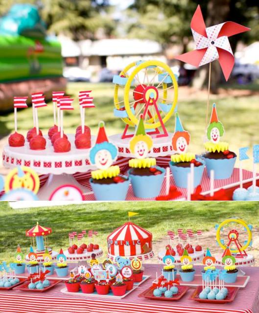 Kara S Party Ideas Car Themed 1st Birthday Party Via Kara: Kara's Party Ideas Circus Carnival Themed Boy Girl 1st