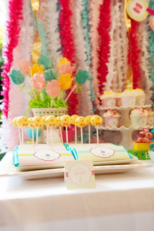 Kara S Party Ideas Classic Pastel Boy Girl Easter Bunny Spring Party