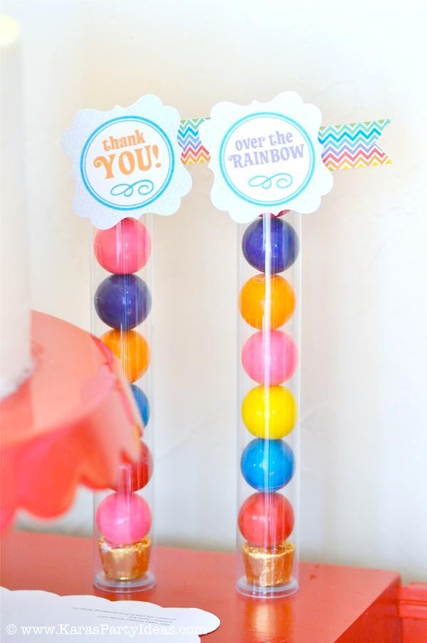 Kara's Party Ideas Rainbow Themed Birthday Party