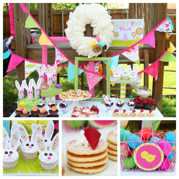 Kara's Party Ideas Easter Egg Hunt Bunny Rabbit Girl Boy