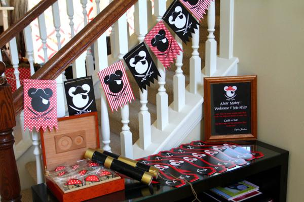 Kara S Party Ideas Mickey Mouse Pirate Boy Disney Themed