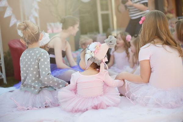 Karas Party Ideas Pretty Pink Ballerina Ballet Dance Girl Birthday