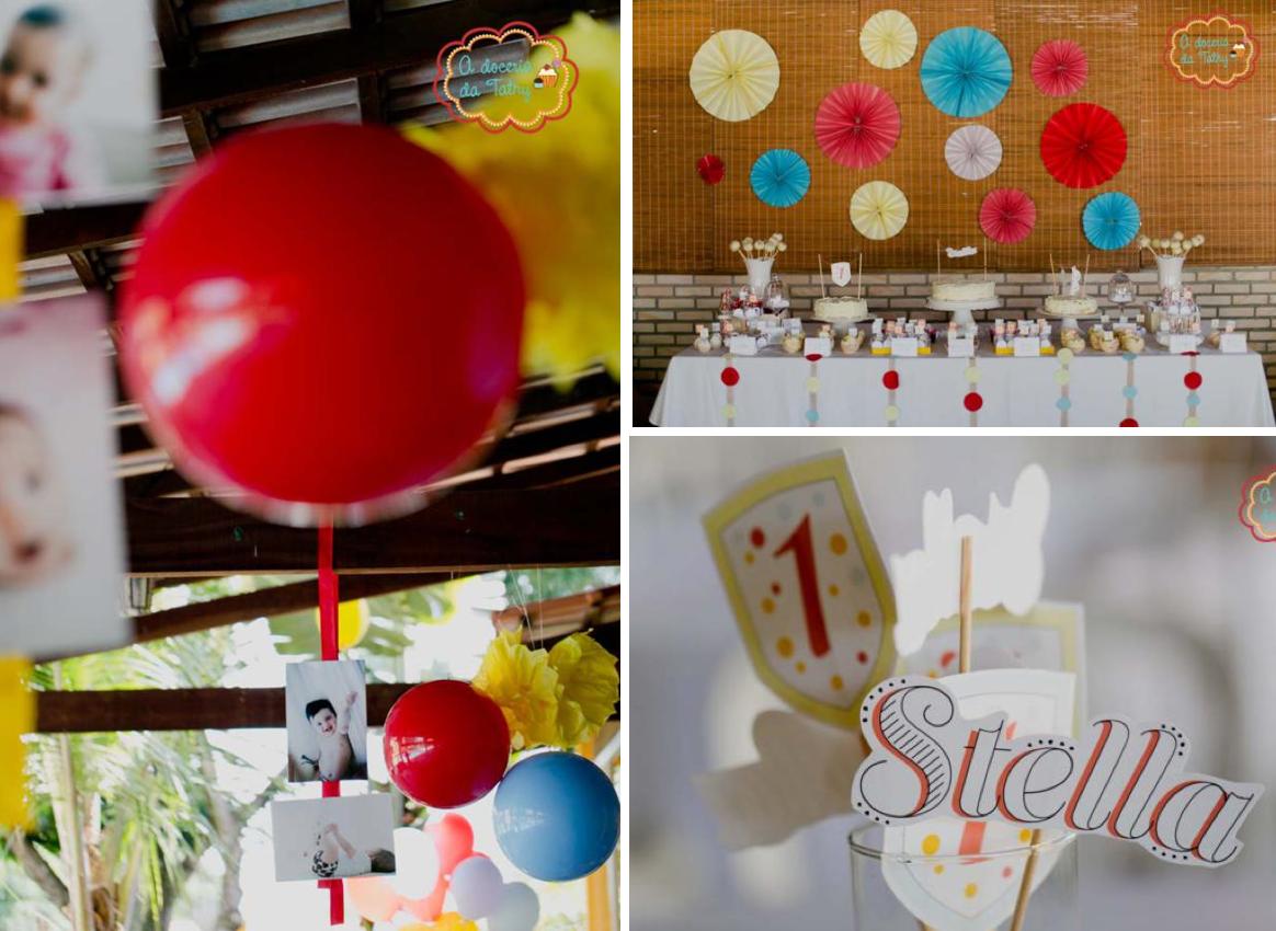 Kara 39 s party ideas polka dot colorful 1st boy girl for Polka dot party ideas