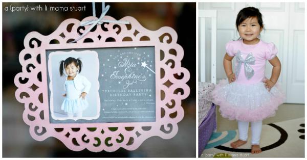 Kara S Party Ideas Pink Princess Ballerina Girl Ballet