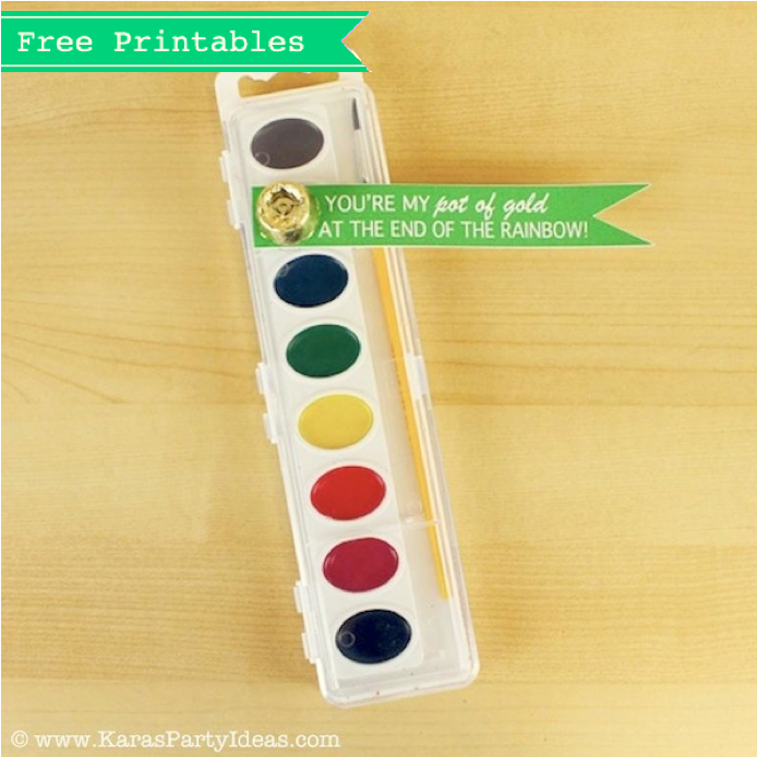 pain st patricks day idea gift free printables set