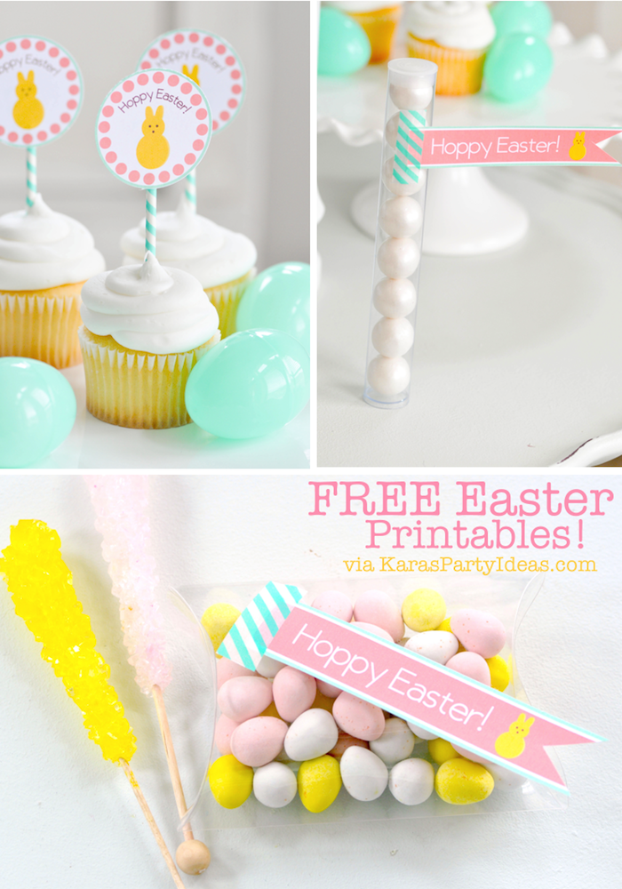 30+ Easter Printables. All free, all cute! Great round-up on { lilluna.com }