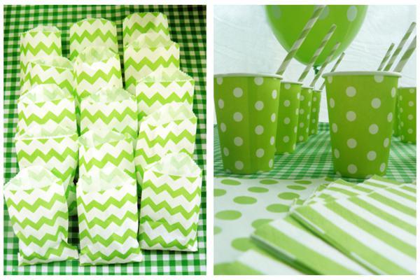Kara S Party Ideas Green Themed Boy Girl 5th Birthday