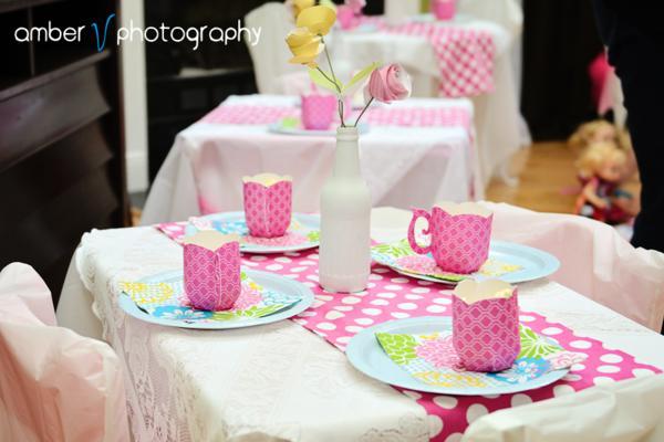Karas Party Ideas Dollie And Me Girl 5th Birthday Tea Party