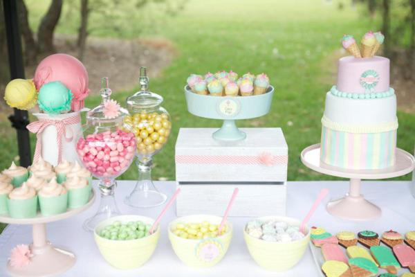 Ice Cream Shoppe Party via Kara's Party Ideas | KarasPartyIdeas.com #ice #cream #shoppe #party #ideas #summer #cake (36)