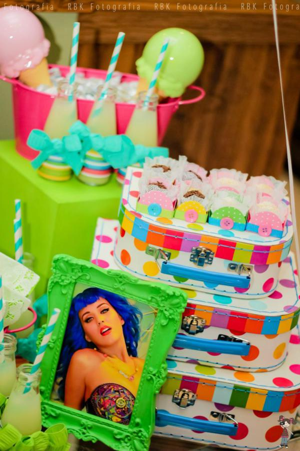 Amazing Karas Party Ideas Katy Perry Music Girl Themed Party Planning Personalised Birthday Cards Veneteletsinfo