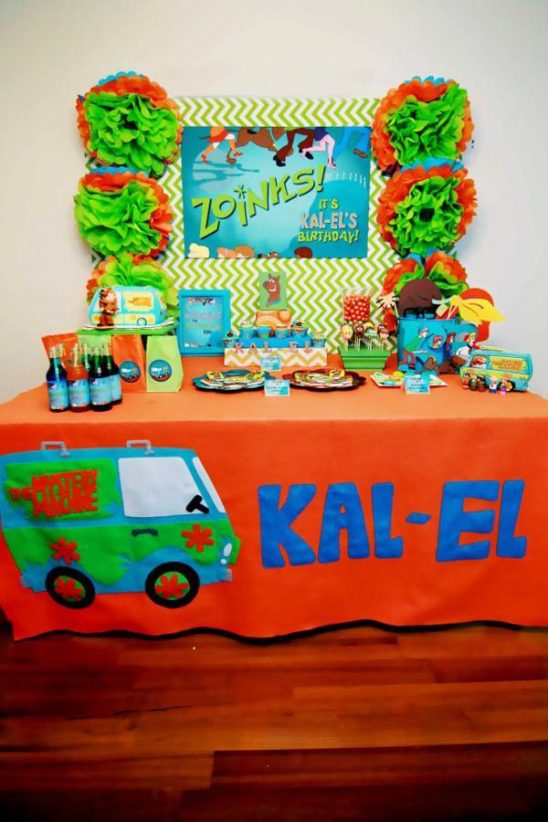 Kara S Party Ideas Scooby Doo Boy Themed Birthday Party