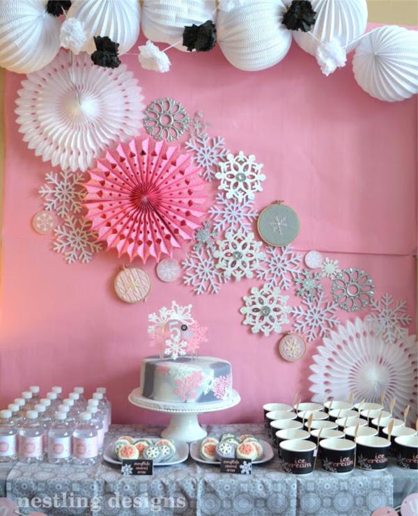Cake Decorating Supplies Snowflakes