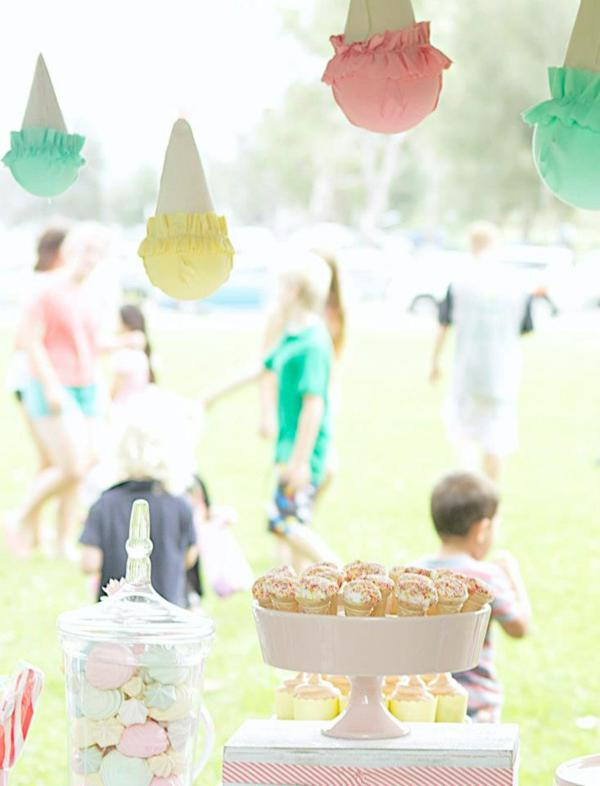 Ice Cream Shoppe Party via Kara's Party Ideas | KarasPartyIdeas.com #ice #cream #shoppe #party #ideas #summer #cake (25)