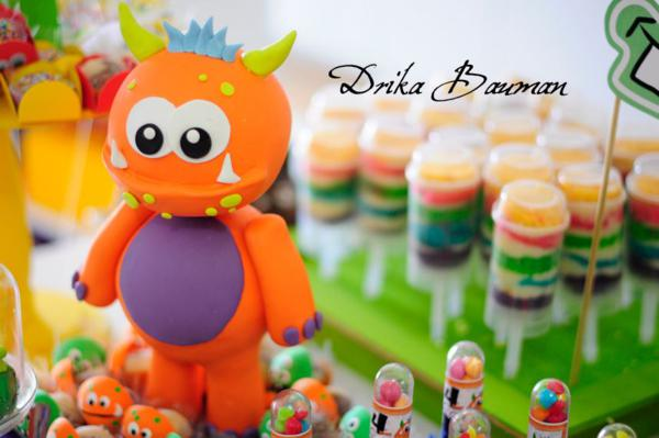 Kara S Party Ideas Monster Boy Girl 4th Birthday Party