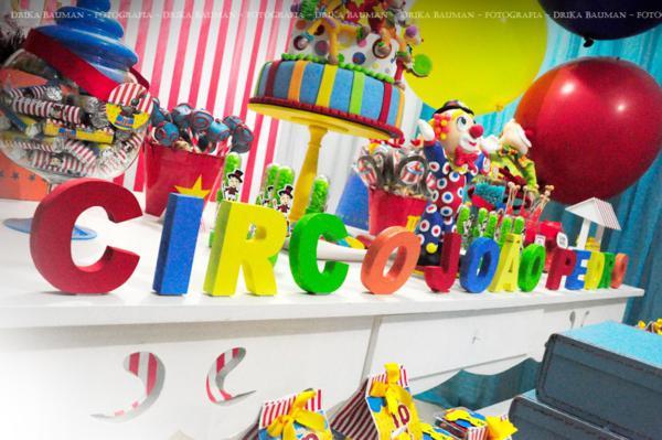 Karas Party Ideas Circus Clown Boy Themed 2nd Birthday Party