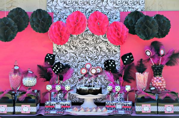 Karas Party Ideas Bunco Girls Night Teen Girl Birthday