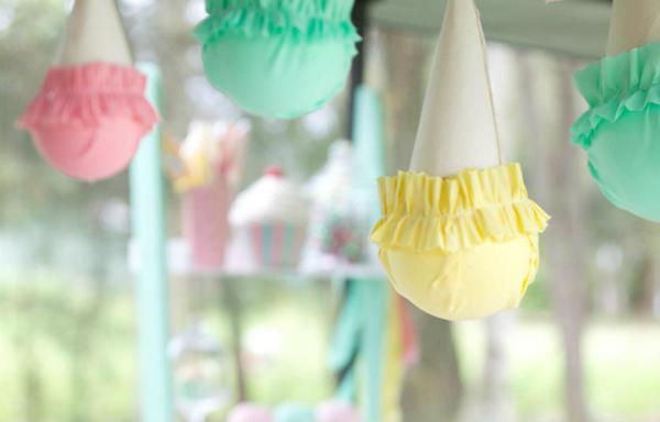 Ice Cream Shoppe Party via Kara's Party Ideas | KarasPartyIdeas.com #ice #cream #shoppe #party #ideas #summer #cake (16)