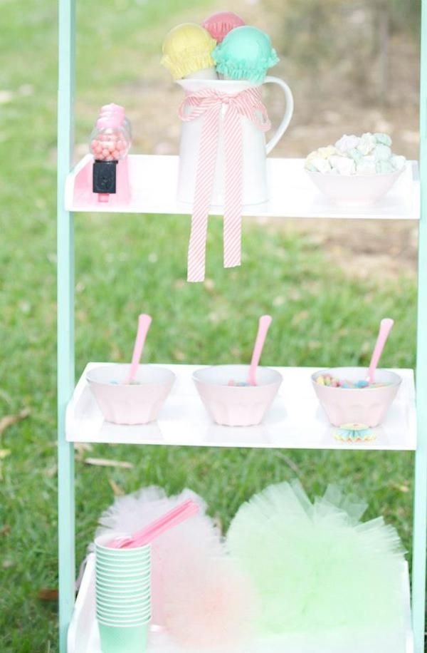 Ice Cream Shoppe Party via Kara's Party Ideas | KarasPartyIdeas.com #ice #cream #shoppe #party #ideas #summer #cake (14)
