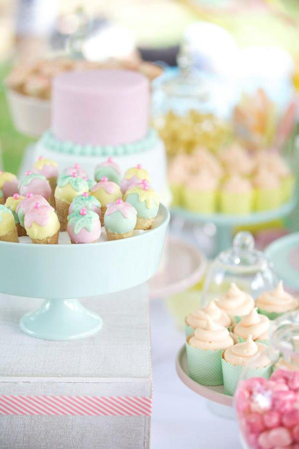 Ice Cream Shoppe Party via Kara's Party Ideas | KarasPartyIdeas.com #ice #cream #shoppe #party #ideas #summer #cake (9)