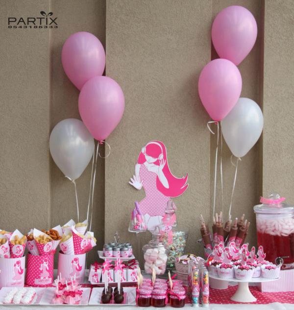 Kara's Party Ideas Pink Girl Tween 10th Birthday Party