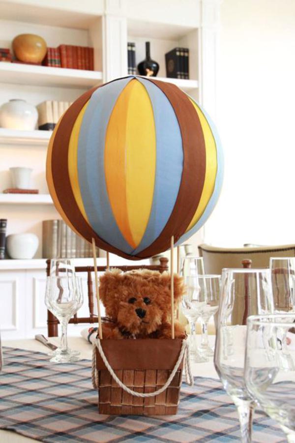 Kara S Party Ideas Vintage Hot Air Balloon 1st Birthday