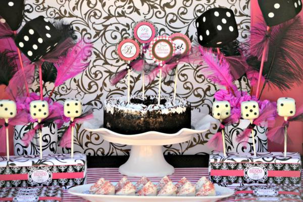 Kara's Party Ideas Bunco girls night teen girl birthday ...