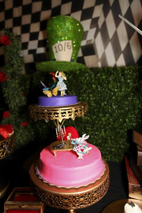 Kara S Party Ideas Midnight Alice In Wonderland 30th Un