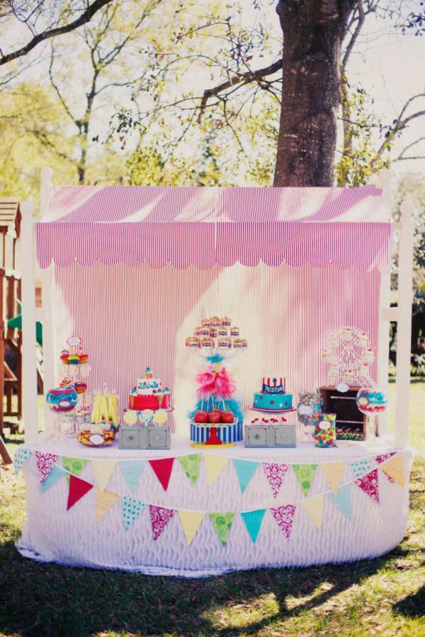 Kara S Party Ideas Carnival Boy Girl Birthday Party