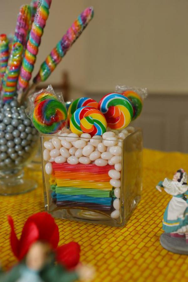 Karas Party Ideas Wizard Of Oz Rainbow Wedding Party Decorations