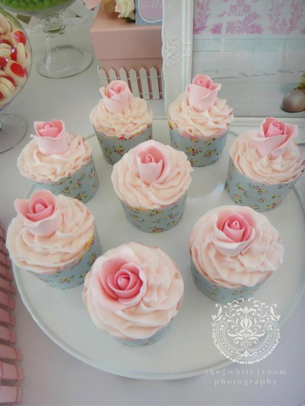 Karas Party Ideas Rose Garden Flower Girl 1st Birthday