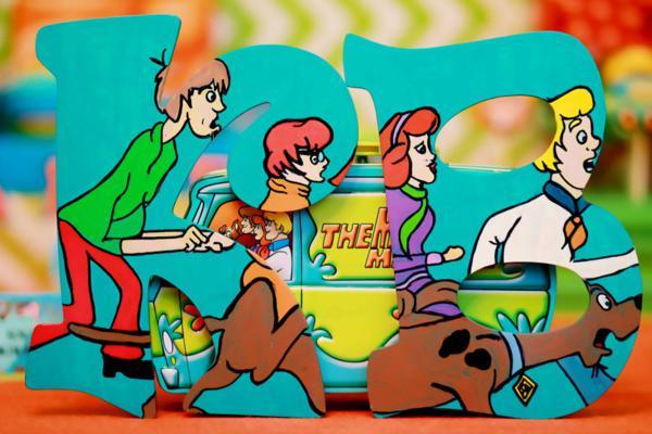 Scooby Doo Birthday Party Decorations: Kara's Party Ideas Scooby Doo Boy Themed Birthday Party