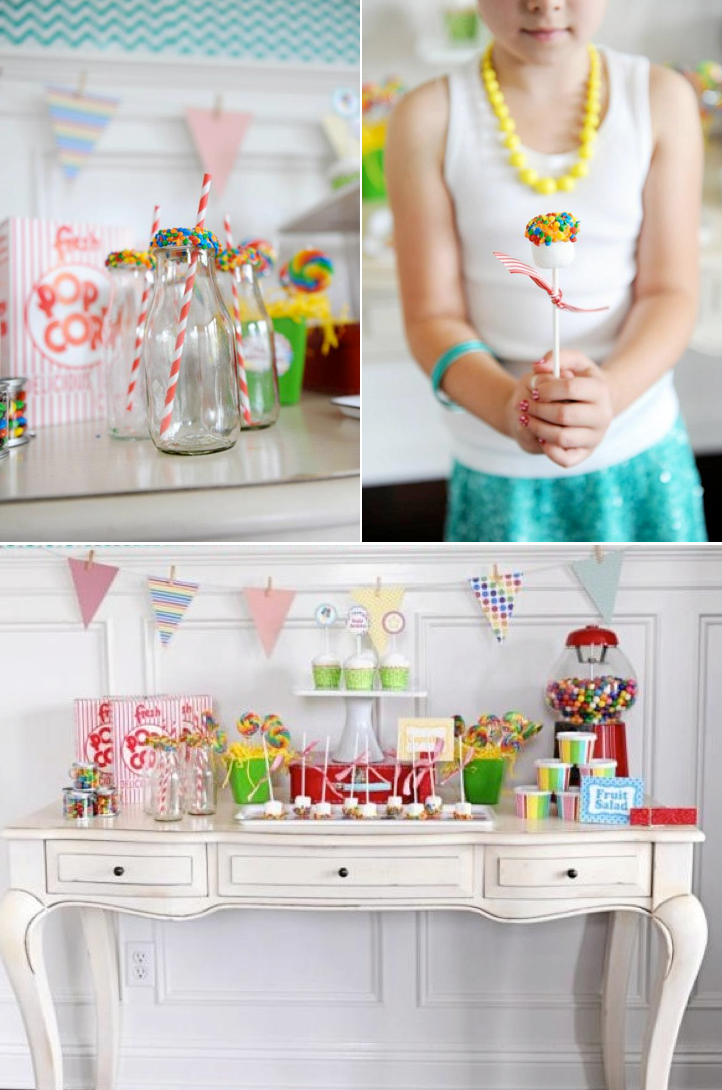 Awesome party idea WEBSITE full of cute party ideas! Kara's Party Ideas | KarasPartyIdeas.com #birthday