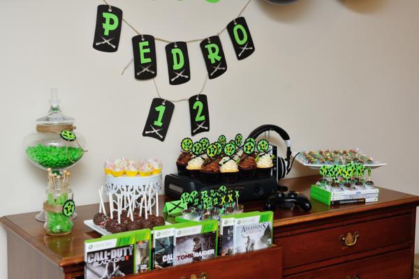 Kara s party ideas xbox video game boy th birthday
