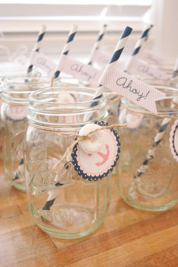 Sailor Girl Nautical Birthday Party via Kara's Party Ideas | KarasPartyIdeas.com #sailor #nautical #girl #navy #party #ideas (31)