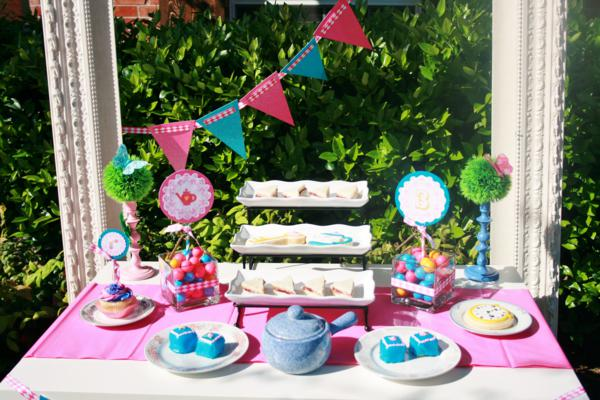Karas Party Ideas Mad Hatter Girl Whimsical Tea Party Planning