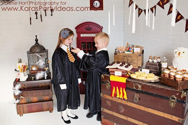 Kara's Party Ideas Harry Potter Party Planning Ideas Cake ...
