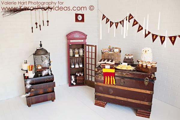 Kara 39 s party ideas harry potter themed birthday party idea for Room decoration products